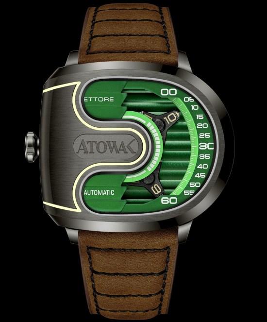 Atowak Ettore Drift watch green dial