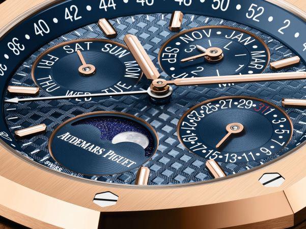 Audemars Piguet Royal Oak Perpetual Calendar, New Blue Dial Versions