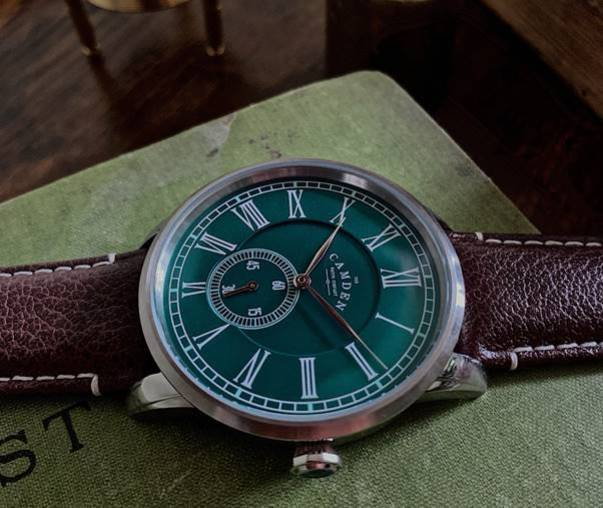 Camden Watch Company No.29 with Racing Green Dial
