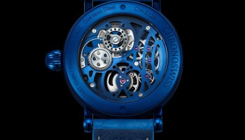 Chronoswiss Open Gear Tourbillon Limited Edition watch case back view