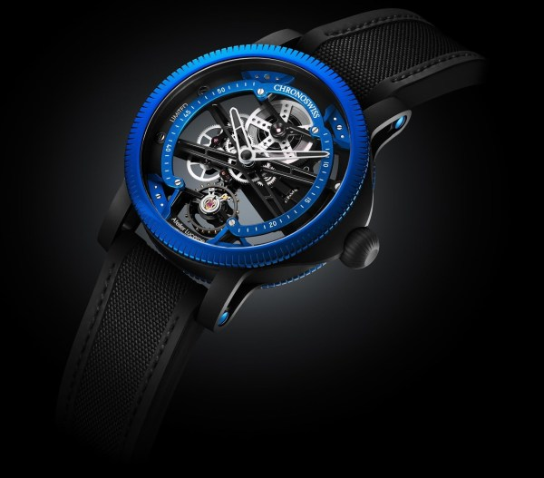 Chronoswiss SkelTec Azur Limited Edition watch black pvd case
