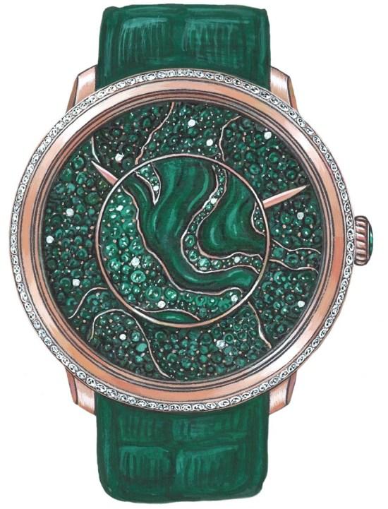 Fabergé lady LIBERTINE I watch