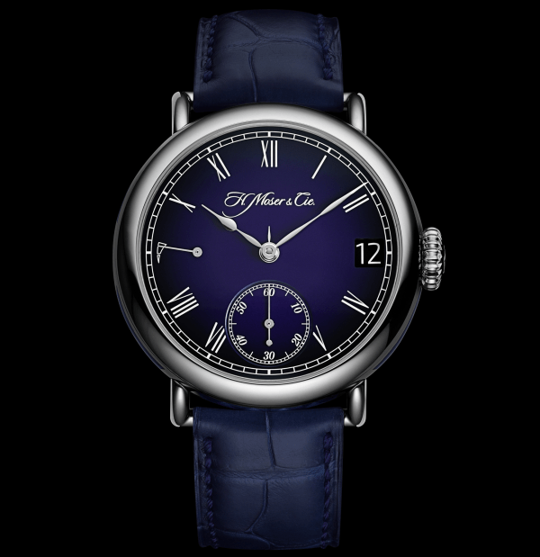 H. Moser & Cie. Heritage Perpetual Calendar Midnight Blue Enamel Limited Edition