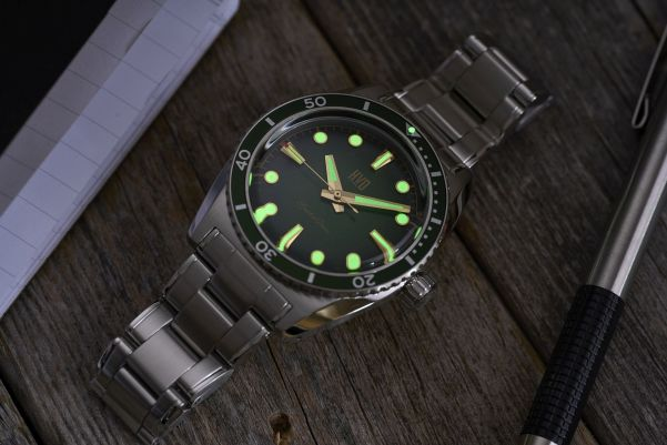 HVD SpectreDiver watch kickstarter campaign