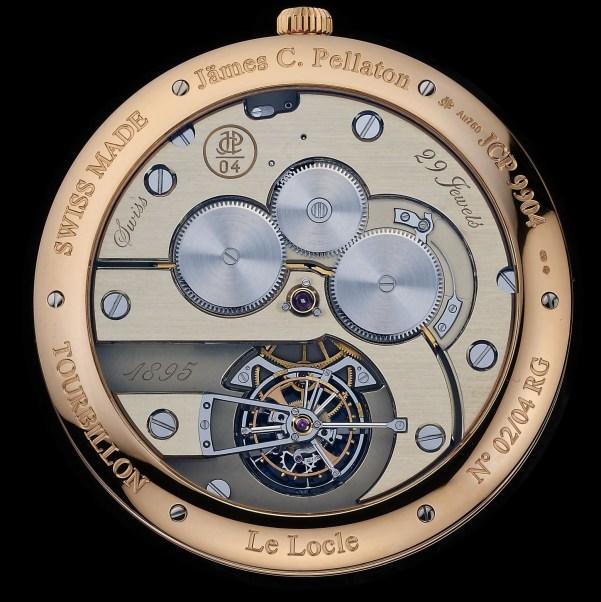 Jämes C. Pellaton Marine Chronometer
