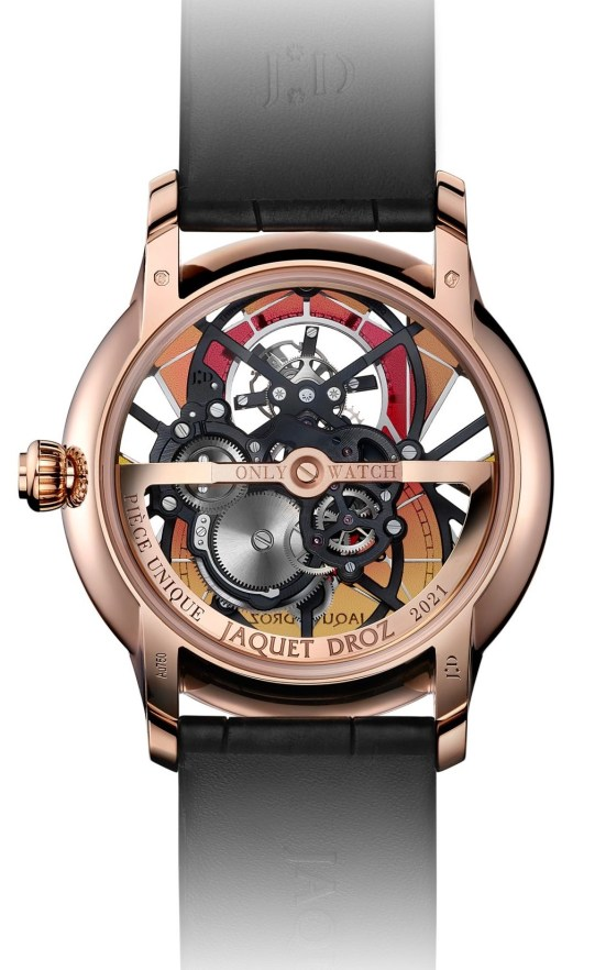 """Jaquet Droz Skelet-One Tourbillon """"Only Watch"""""""