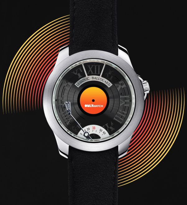 """Ludovic Ballouard Half Time """"Vinyl 33 Tours"""" Unique Piece for Only Watch 2021"""