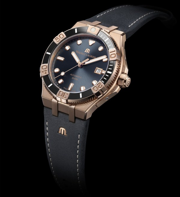 Maurice Lacroix Aikon Venturer Bronze 43mm Limited Edition watch with anthracite dial