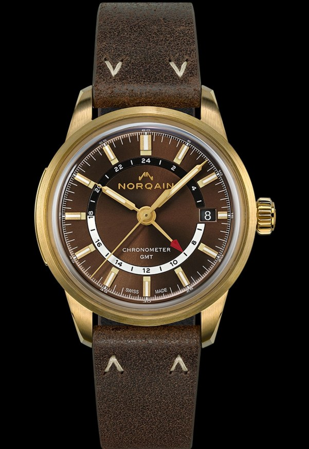 NORQAIN GMT automatic watch
