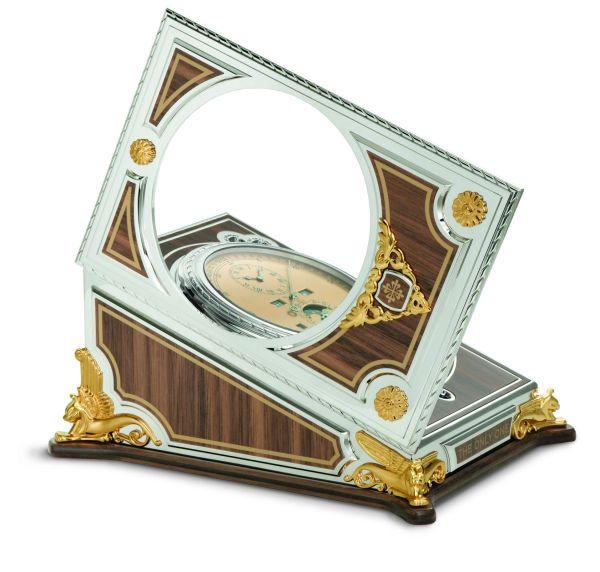 Patek Philippe Complicated Desk Clock, Unique Piece for Only Watch 2021