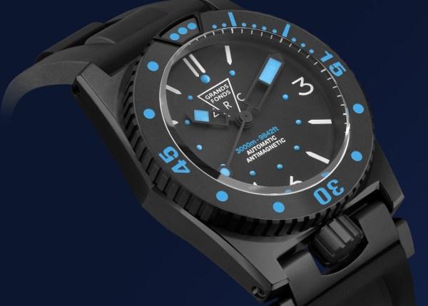 ZRC GRANDS FONDS 3000 diving watch