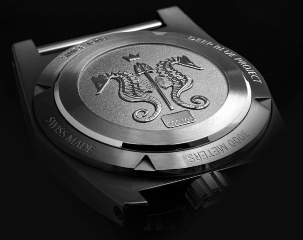 ZRC GRANDS FONDS 3000 diving watch case back
