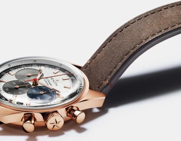 Zenith Chronomaster Original automatic chronograph rose gold
