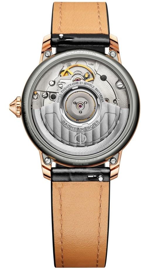 Baume & Mercier Classima 18K Pink Gold Titanium Automatic