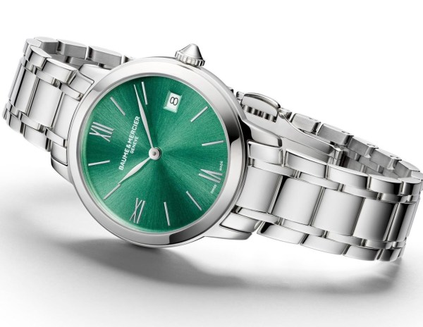 Baume & Mercier Classima, New Models with Green Dial