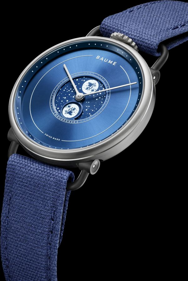 Baume moonphase 41mm, Reference M0A10637