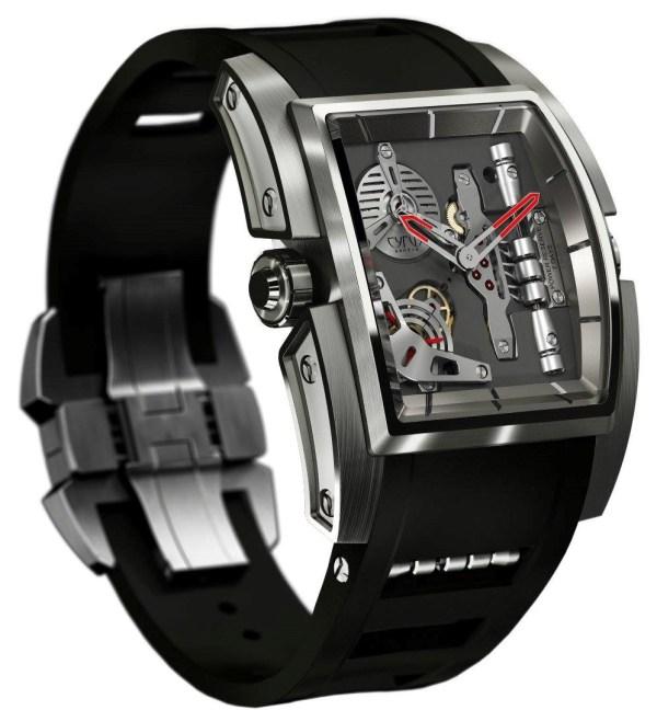 CYRUS KAMBYS watch in titanium
