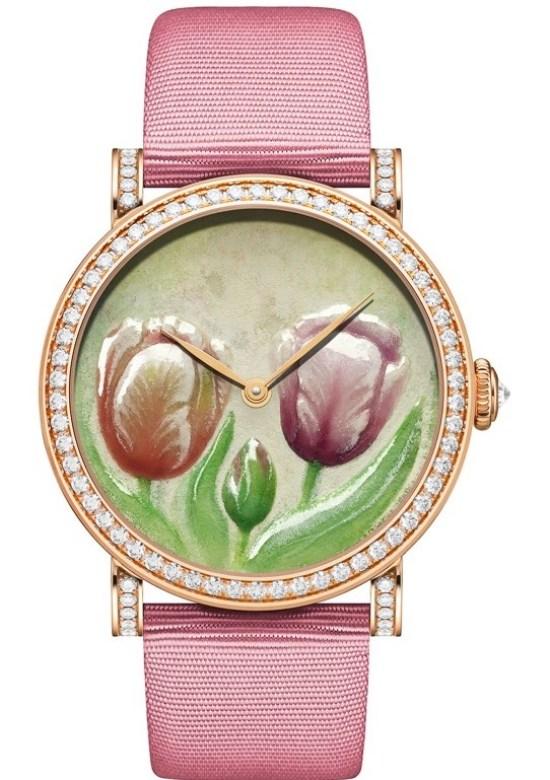 DeLaneau Jazzy Tulips watch