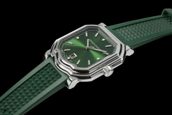 Gerald Charles Maestro GC2.0-A Automatic watch with emerald green dial