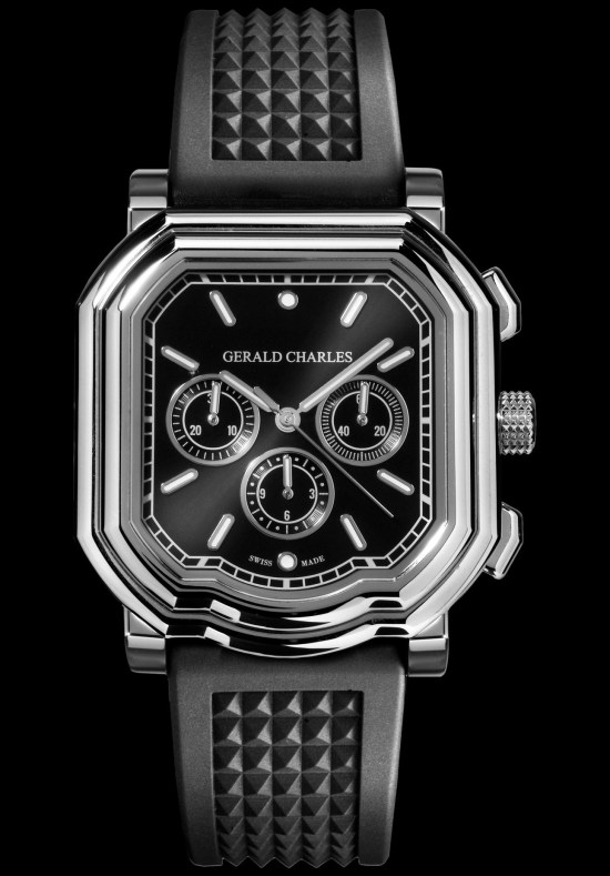 Gerald Charles Maestro GC3.0-A Chronograph with black dial