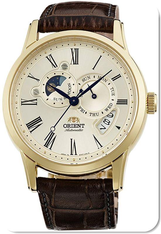 ORIENT WATCH 65th Anniversary World Limited Edition SUN&MOON Watch