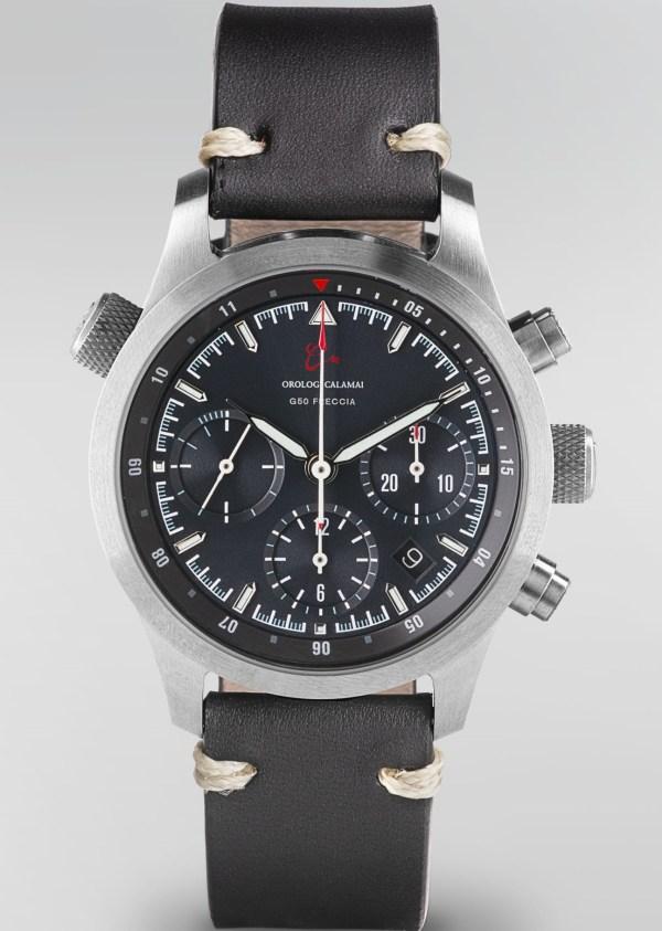 Orologi Calamai Chronograph G50 F black dial