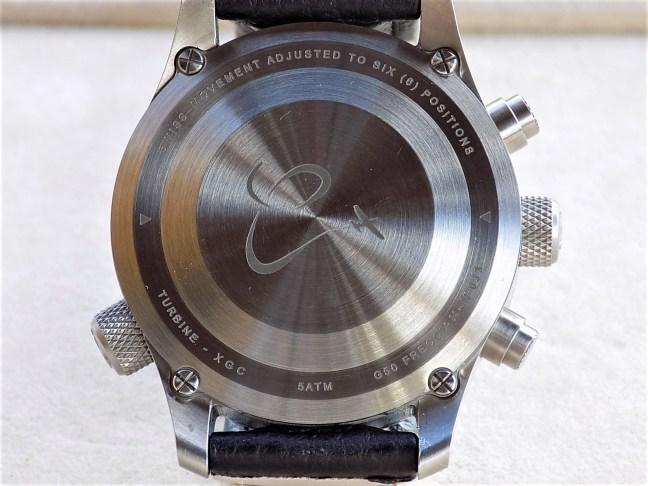 Orologi Calamai Chronograph G50 F Case back