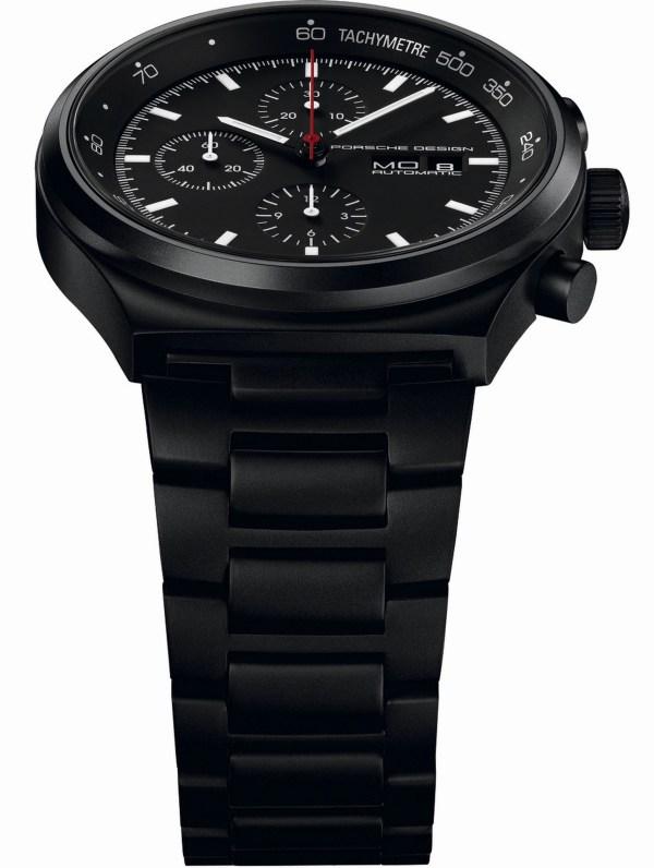 Porsche Design P'6510 Black Chronograph
