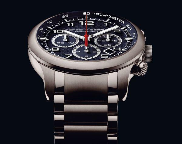 Porsche Design P'6612 PTC New Model with midnight blue dial and bracelet