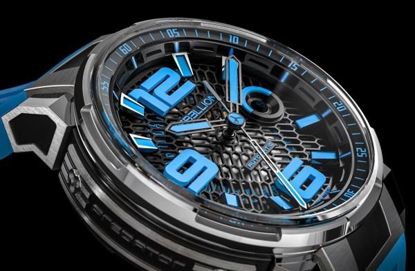 REBELLION PREDATOR 2.0 3 HANDS titanium blue