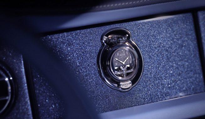 ROLLS-ROYCE X BOVET 1822 watch dashboard
