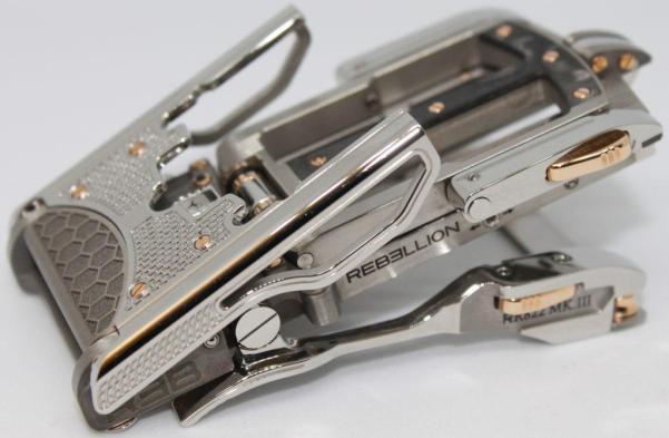 RR822 Steel Roland Iten X Rebellion Belt buckle
