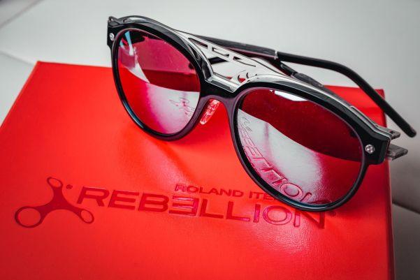 Rebellion x Roland Iten Sunshield Sunglasses