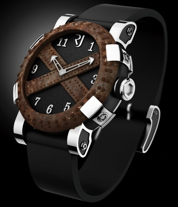Romain Jerome 'Made with parts of the Titanic' Ala Grande, DNA of Famous Legends watch