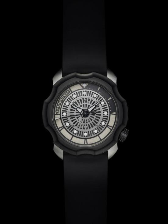 Sarpaneva Korona K0 watch dual color