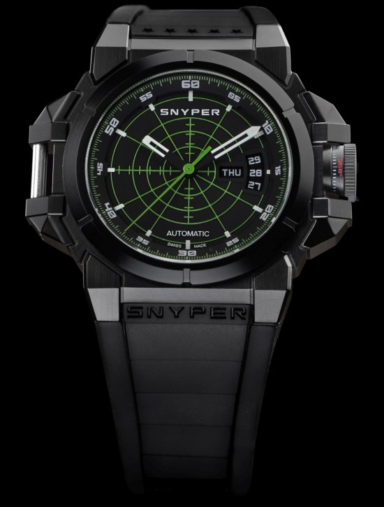 Snyper Two – Black PVD Green Target watch Reference: 20.281.00
