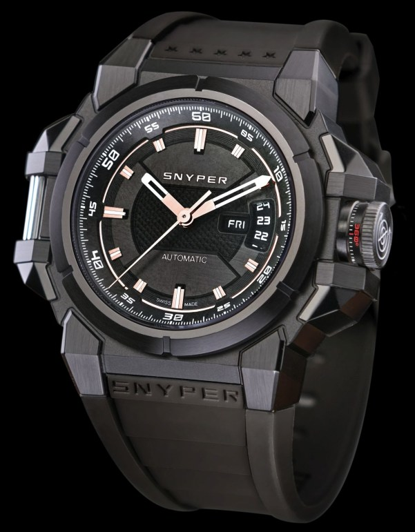 Snyper Two – Titanium Grey PVD, Reference: 20.305.0R