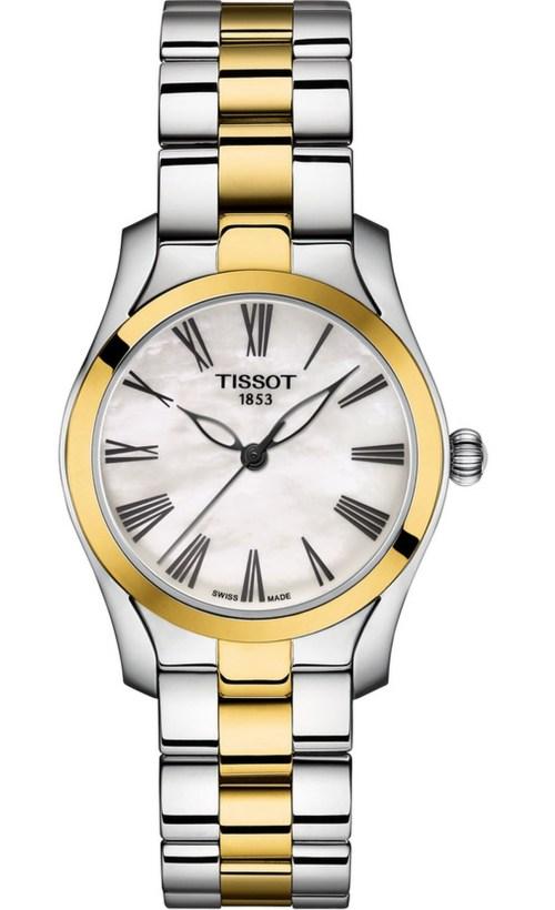 Tissot T-Wave Bicolour watch