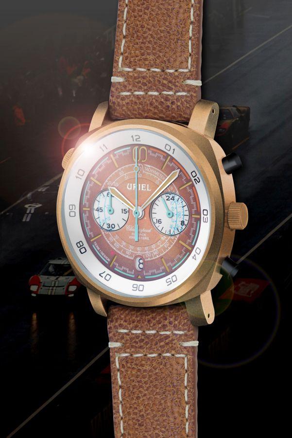 URIEL GT 40C Chronograph Salmon