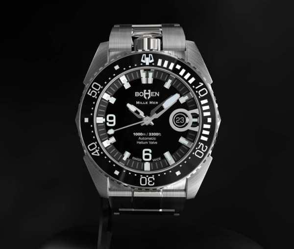 BOHEN MILLE-MER diving watch swiss made