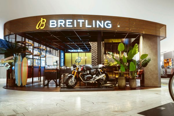 Breitling and Triumph announce a long-term partnership