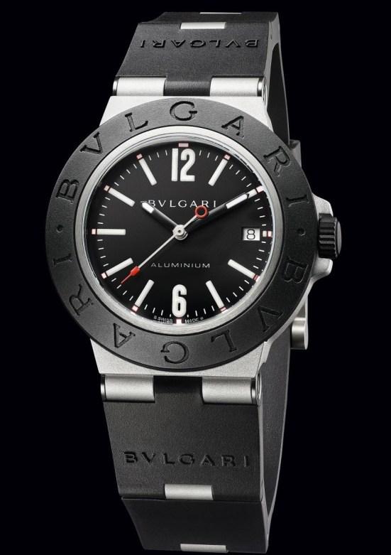 Bvlgari Aluminium Black Dial, reference 103445