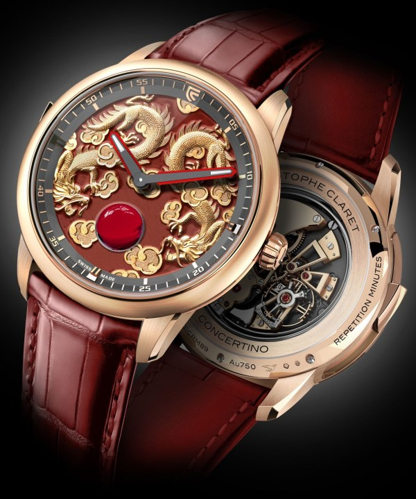 Christophe Claret Concertino watch red gold version