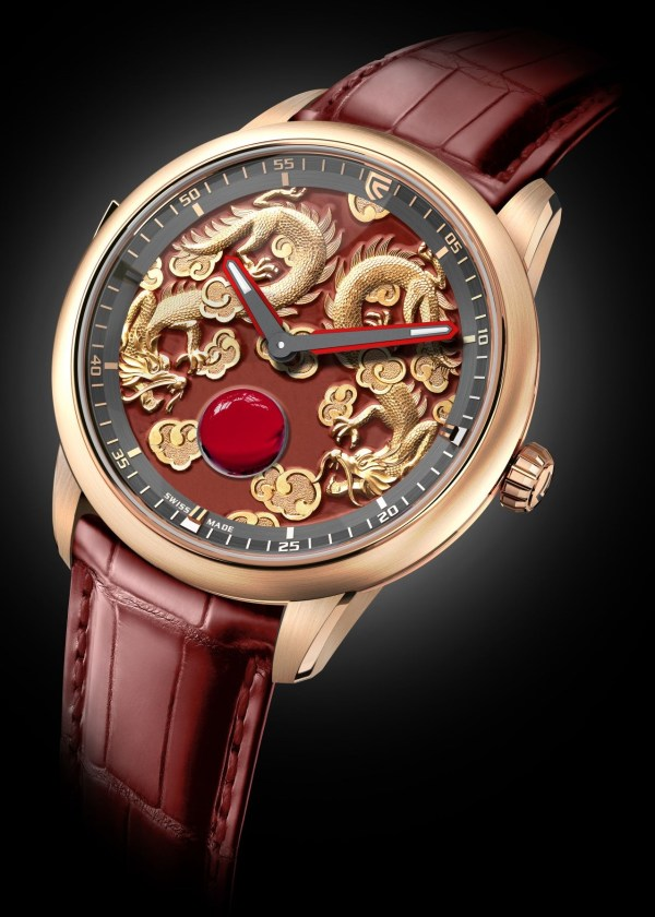 Christophe Claret Concertino red gold minute repeater watch