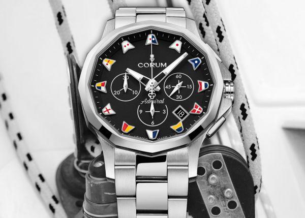 Corum Admiral 42 Chronograph New Models 2021