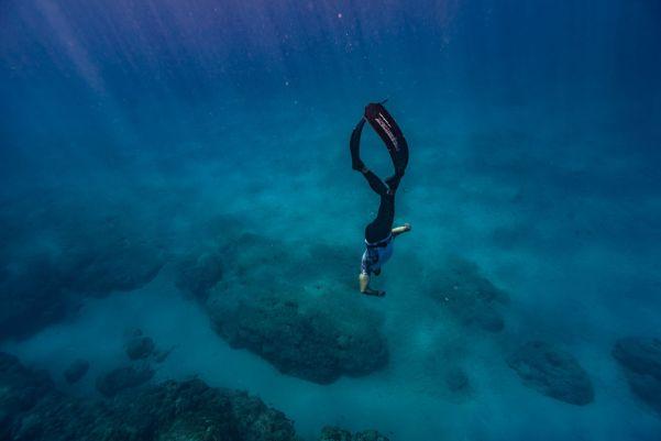 Cuban Free Diver Francisco 'Pipin' Ferreras