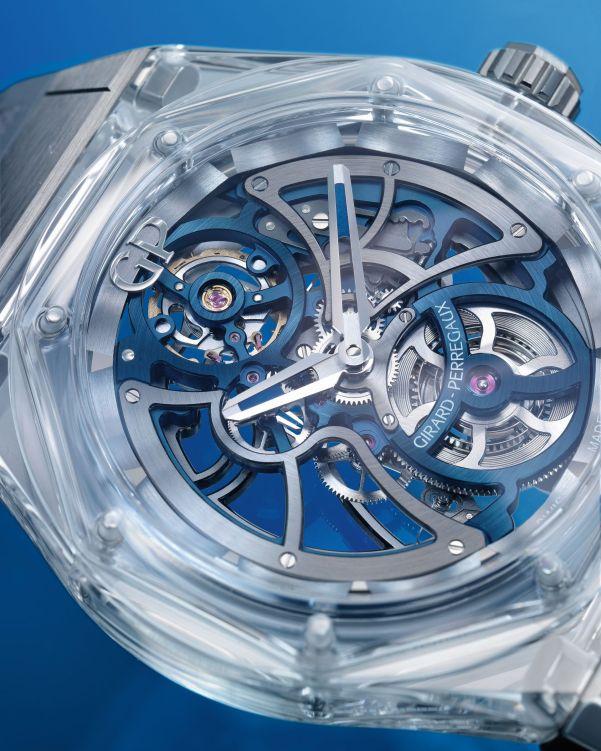 Girard-Perregaux Laureato Absolute Light Bucherer Blue Limited Edition