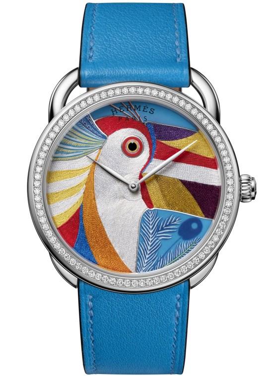 Hermès ARCEAU Toucan de Paradis Limited Edition