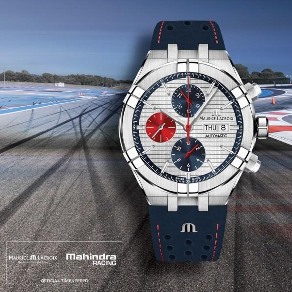 Maurice Lacroix AIKON Automatic Chronograph Special Edition Mahindra Racing