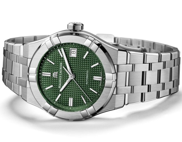Maurice Lacroix Aikon Automatic New Version with green dial